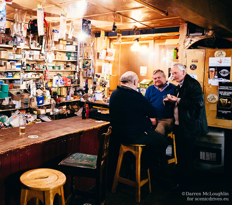 Conversation in the pub, Dingle